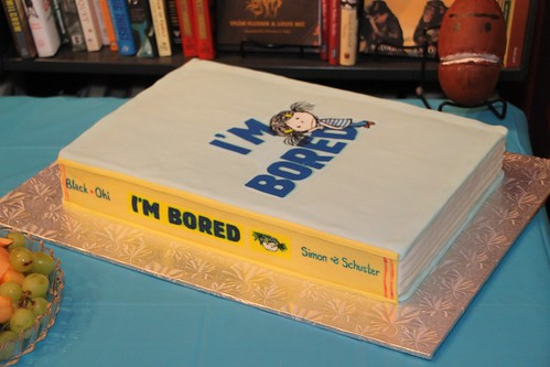 I'M BORED cake by Laura Fanta