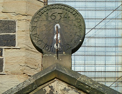 1634 sundial at Low Moor