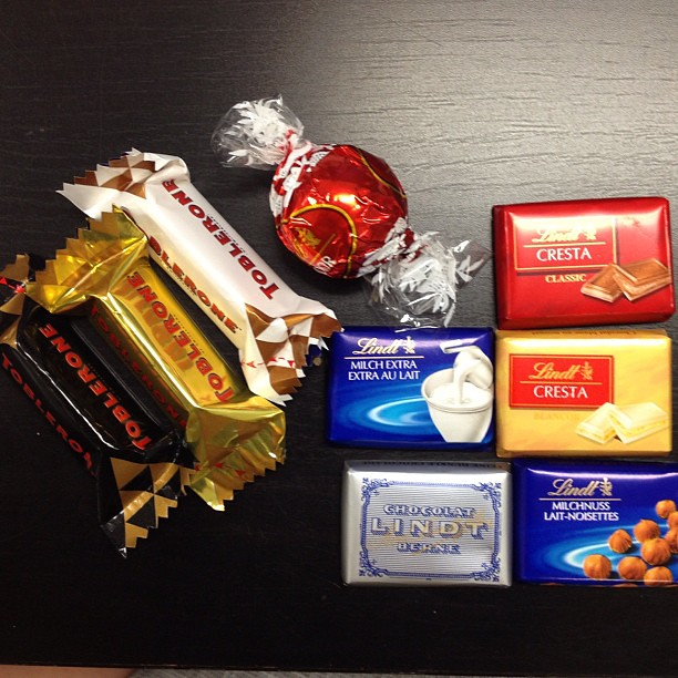 The Swiss are in town which means an exquisite chocolate collection for me to try!