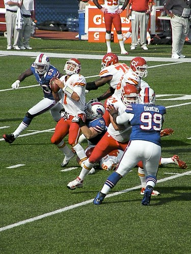 Kyle Williams Sacks Matt Cassel