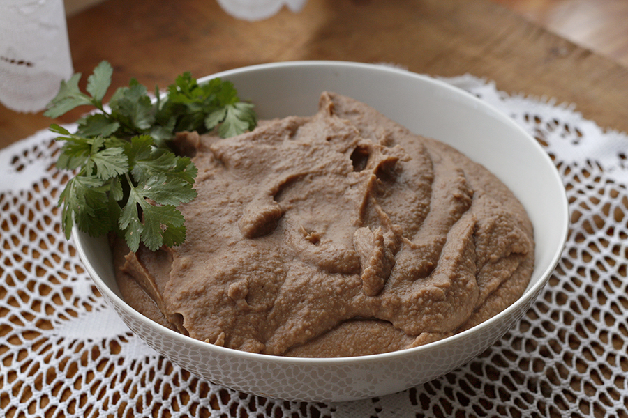 Perfect refried beans