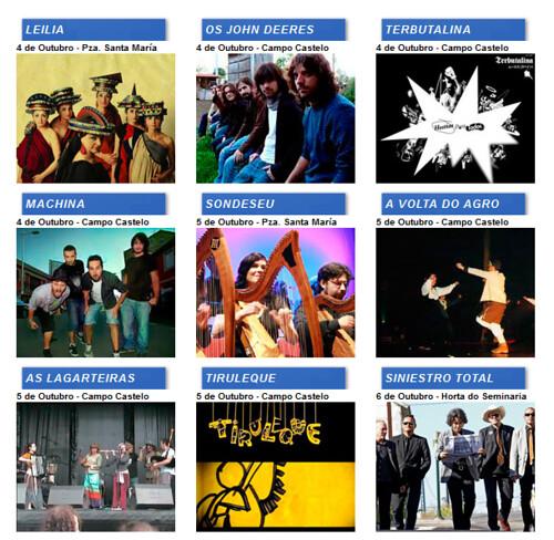 Lugo 2012 - San Froilán - artistas 1