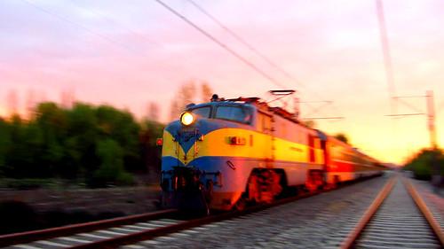 [フリー画像素材] 乗り物・交通, 電車・列車, 風景 - チリ ID:201209280000