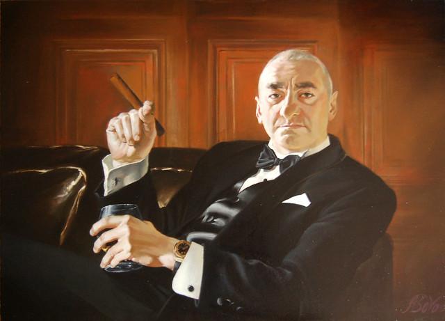 portrait (old school)