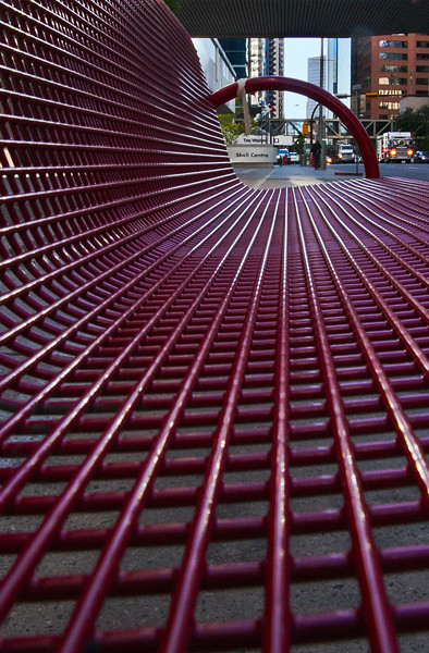 Downtown Bench