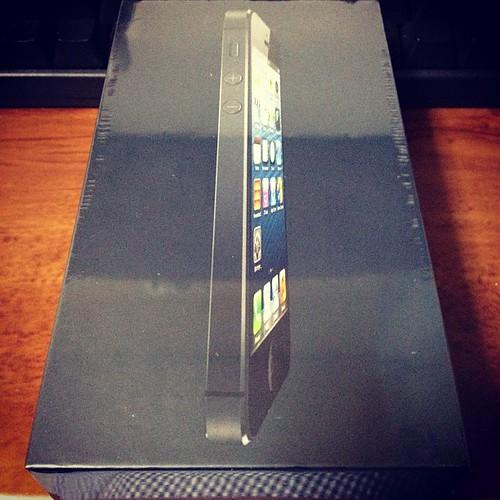 iPhone5が来た!