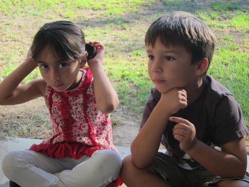 Finn and Sylvia