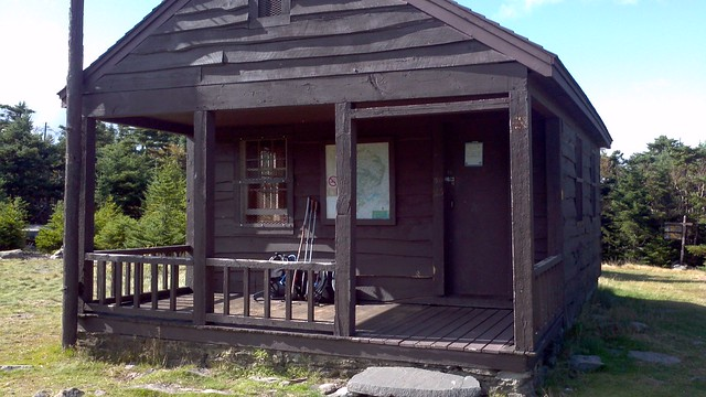 Hunter Mountain observer's cabin