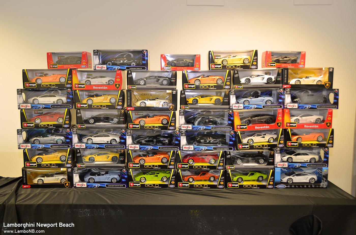 Lamborghini diecast cars huge selection l4p discounts