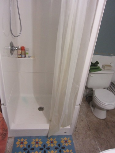 new shower stall!
