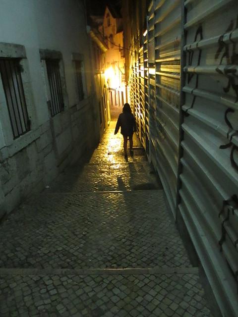 Exploring Alfama, Lisbon, Portugal