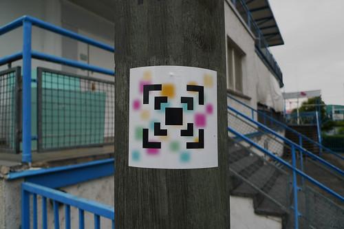 Der letzte QR Code in Offenbach 2012