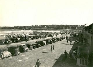 View of southern end of Bondi Beach, Bondi (NSW)