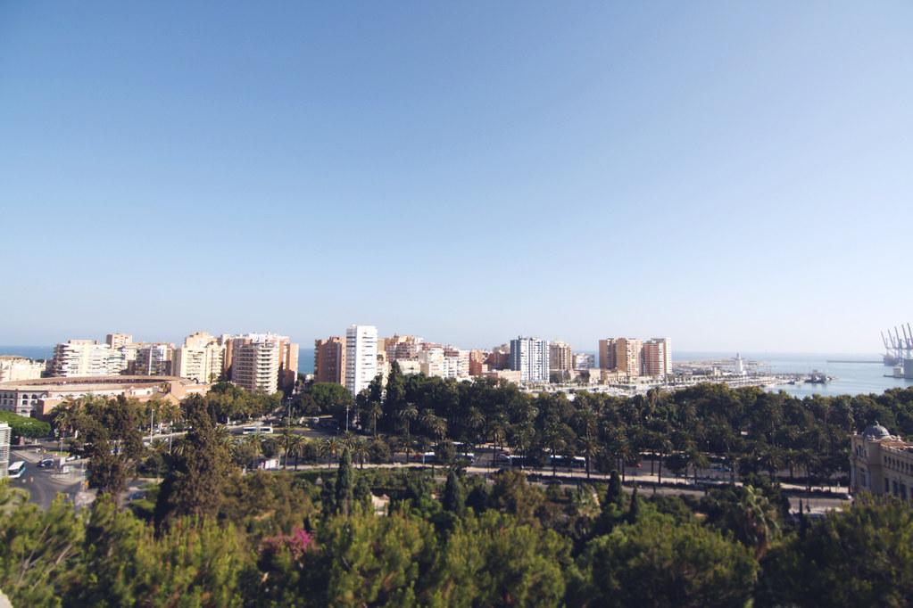 malaga view