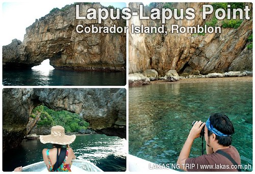 Lapus-Lapus Point in Cobrador Island, Romblon