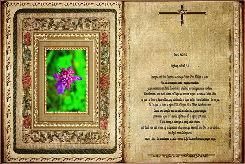 Evangelio según San Lucas 11,15-26. Obra Padre Cotallo