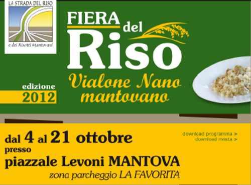 Festa del Riso Vialone Nano Mantovano, foto da www.stradadelrisomantovano.it