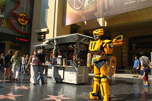bumblebee hollywood boulevard