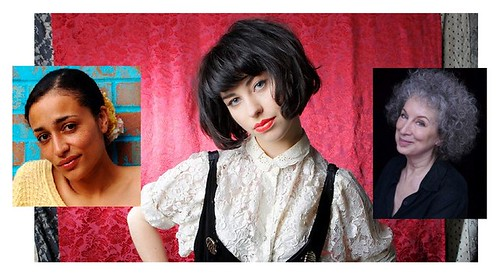 Kimbra, Zadie Smith and Margaret Atwood