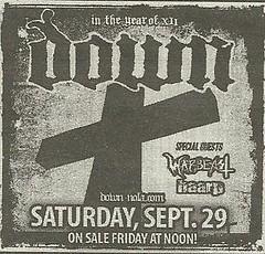 09/29/12 Down/ Warbeast/ Haarp @ Starland Ballroom, Sayerville, NJ