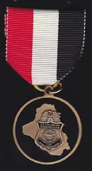 CBP Iraq medal reverse