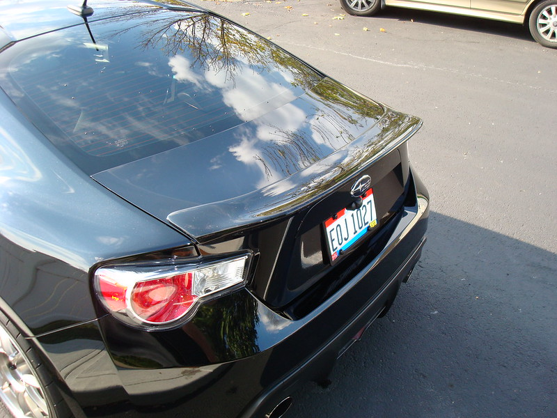 Carsmo Duckbill Spoiler Installed On Brz Limited Scion