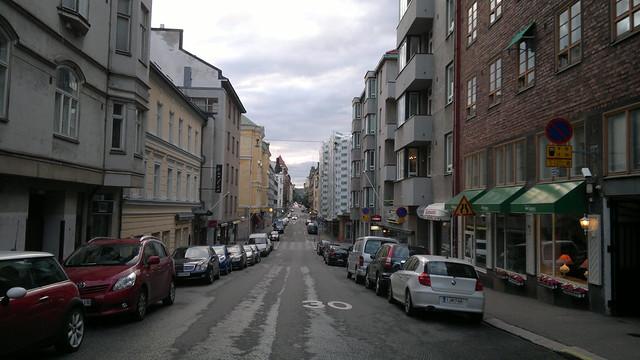 Helsinki a las 10 de la noche