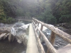 Footbridge at Spence Ridge Trail