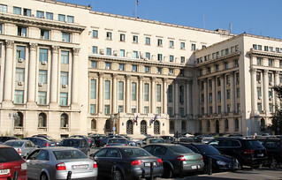 Former Central Committee building of the Romanian Communist Party