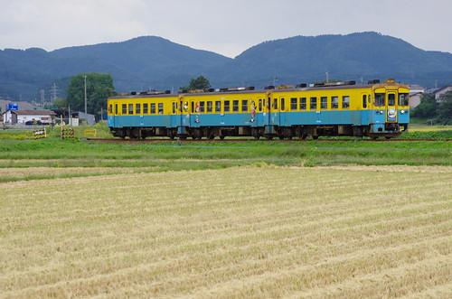 由利高原鉄道 YR1500形3両サヨナラ運転 #03
