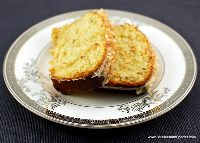 Coconut-Buttermilk Pound Cake