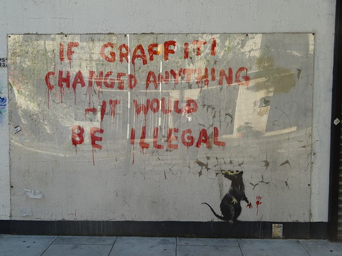 077 - Banksy Near BT Tower