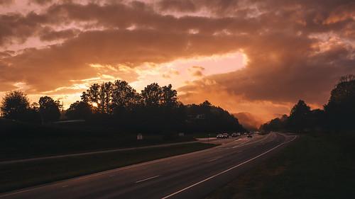 sunset mountains nature 35mm landscape golden nikon northcarolina parkway blueridgeparkway goldenhour appalachianmountains d700 35mmf14g
