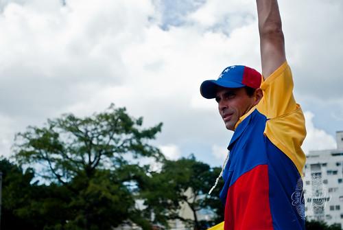 Hernesto Capriles, líder MUD. Foto por Flickr EloyBp
