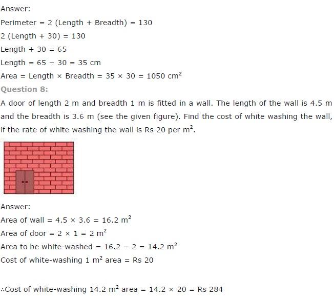ncert maths class 9 chapter 11 exercise 11.1