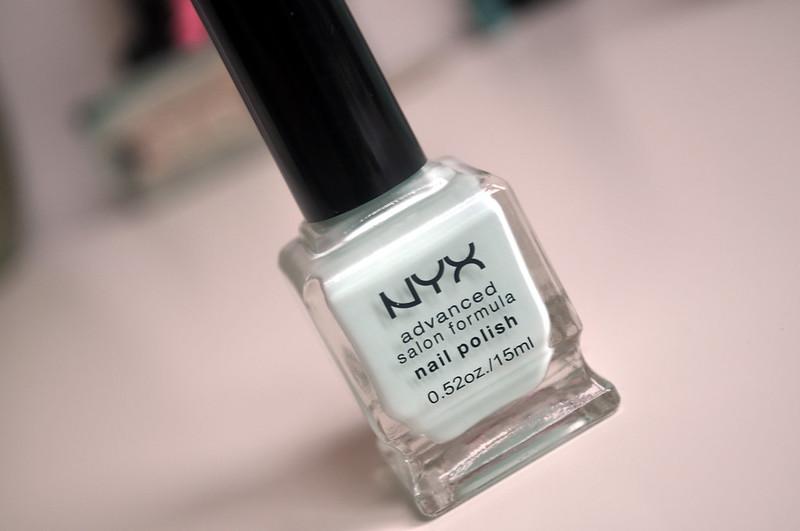nyx pastel mint 1