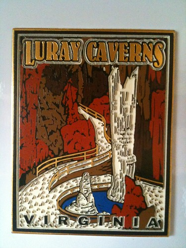 Luray Caverns Souvenir Magnet (made in USA)