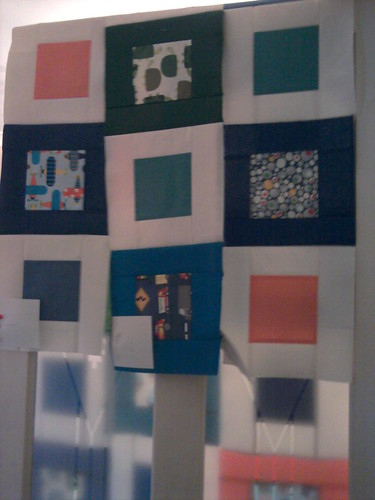 Small Plates quilt rows