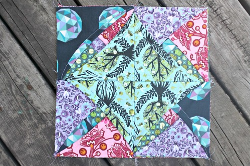 cathedral block 1 by Sara @ Sew Sweetness