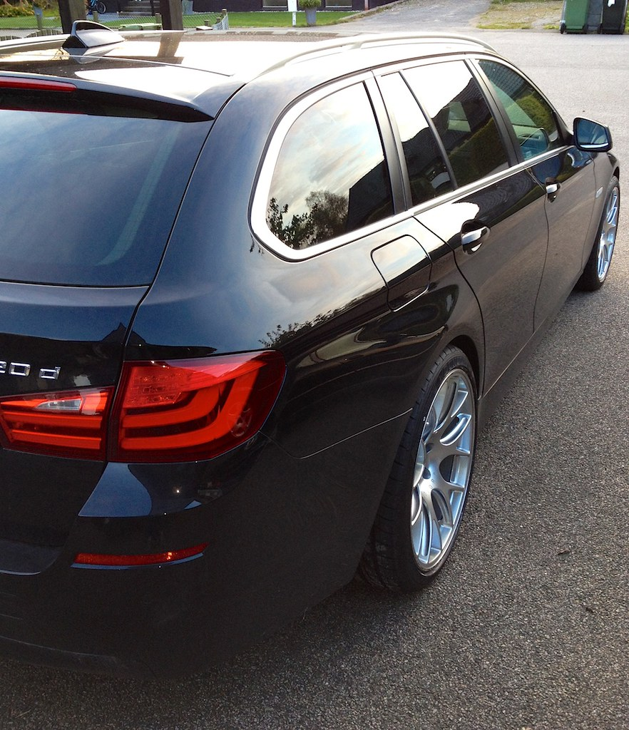 Bmw 520d Touring: BMW 520D Touring With BBC CH-R