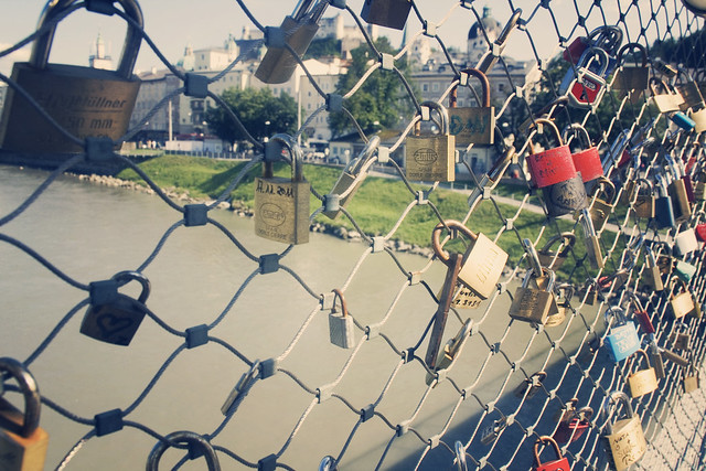 love padlocks, locks of love