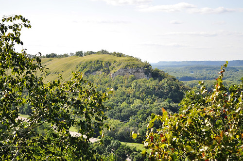 View of Big Bluff in Red Wing