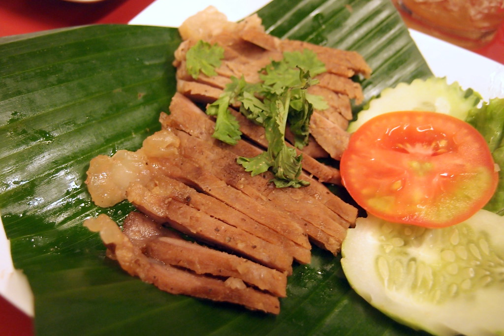 Grilled Pork Collar @ Somtam Nua