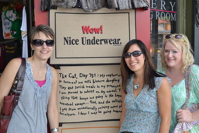 Underwear joke