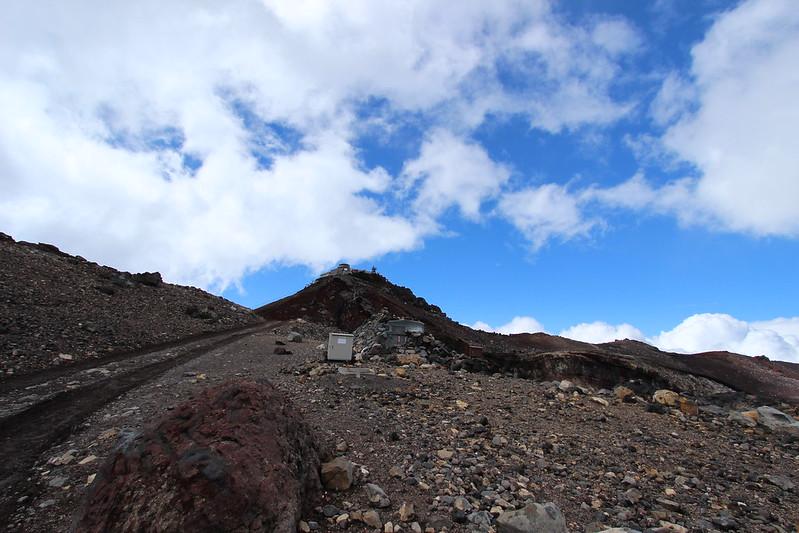 富士登山 剣ヶ峰から帰還 その3