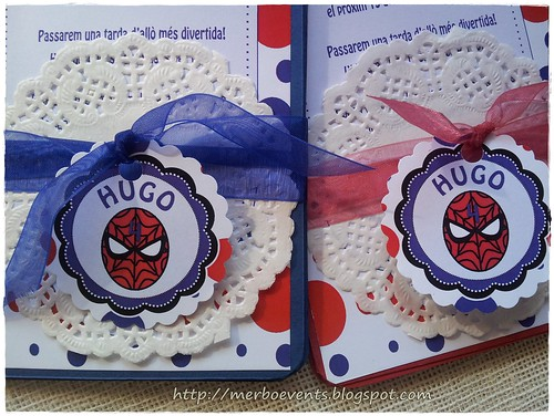 invitaciones spiderman Merbo Events1
