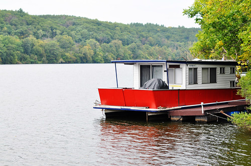 Old Houseboat on the St Croix