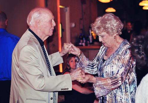 Gramo and Gram Dancing