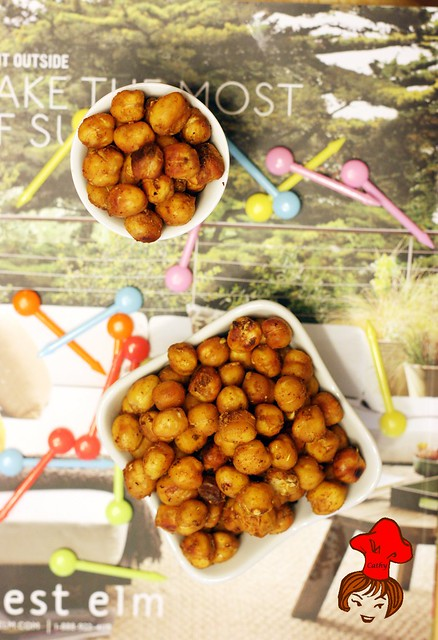 oven baked chickpeas 5