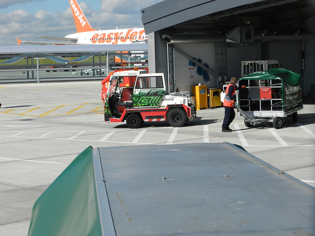 Airport Baggage Tugs http://www.flickr.com/photos/77175657@N00/8058661219/